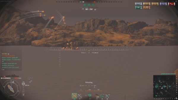 WoWS A close game in the Tier 6 German Cruiser Nurnberg