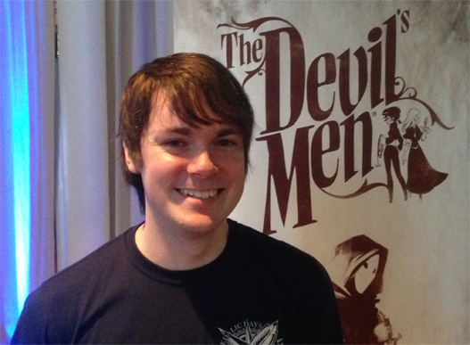 Kevin Mentz from Daedalic Entertainment