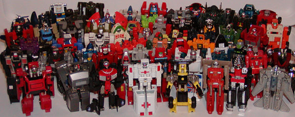YDGTS Gobots vs Transformers