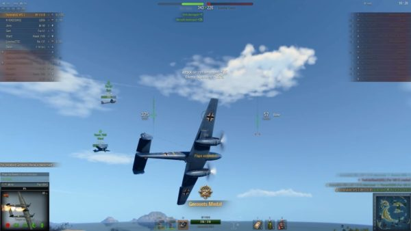 World of Warplanes 2.0: Bf 110 B – Nothing Strange About How Awesome It Is