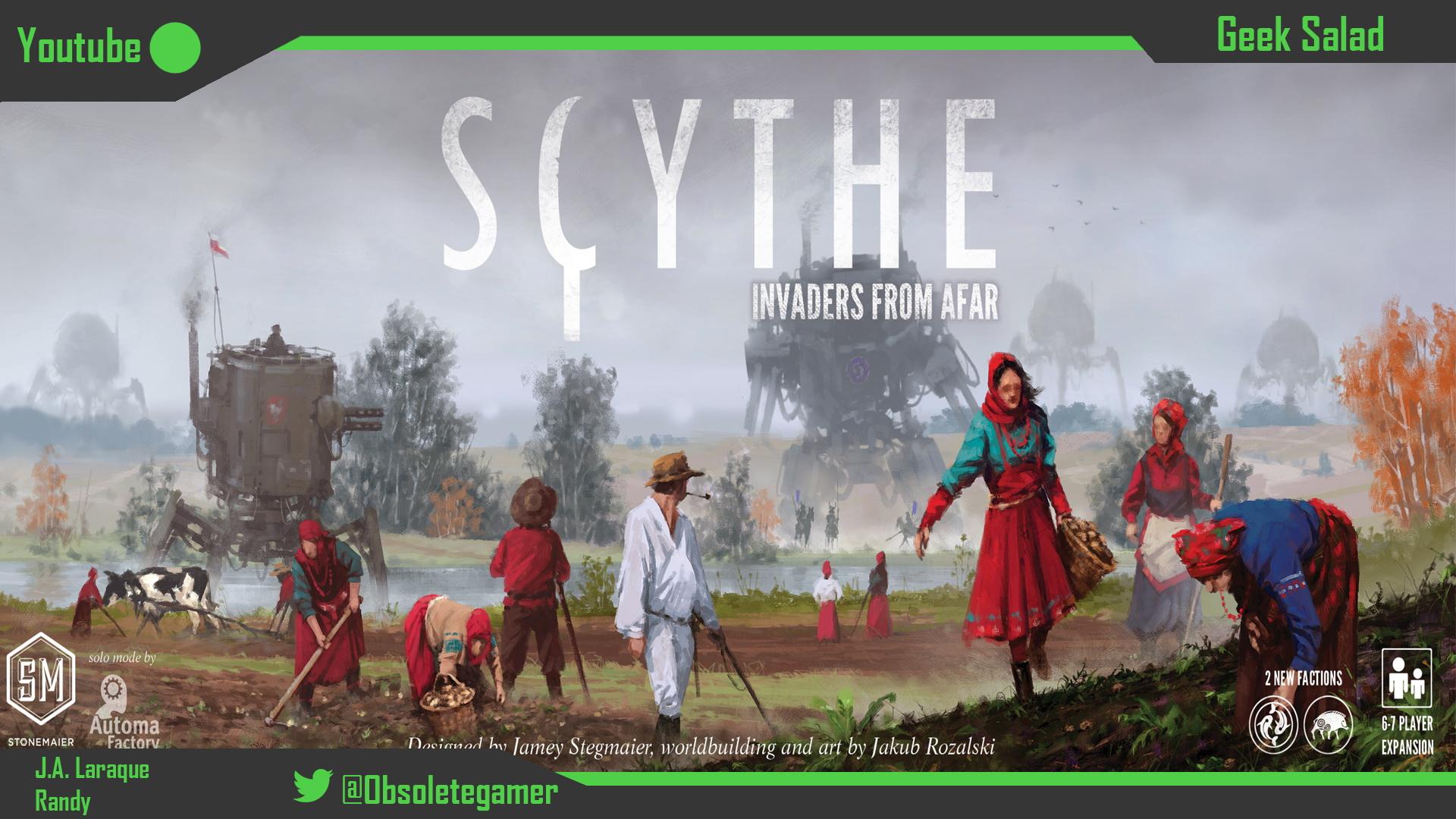 Scythe Boardgame Review